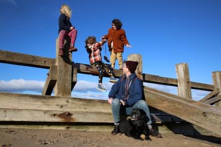 Beach adventurers by Geraldine Heaney